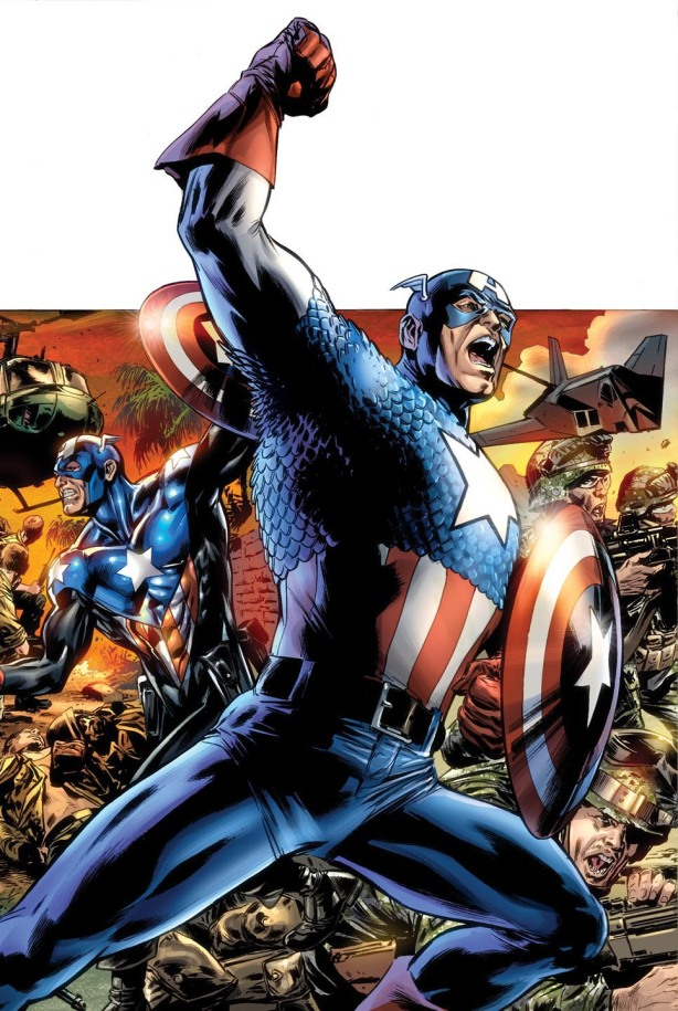I Love Boring Comics Says Cap America