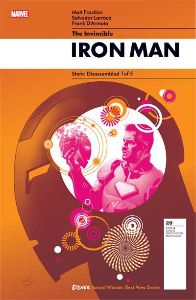 Invincible Iron Man #20 Cover